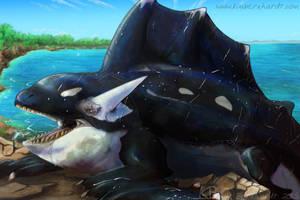 Orca Dragon by kimardt