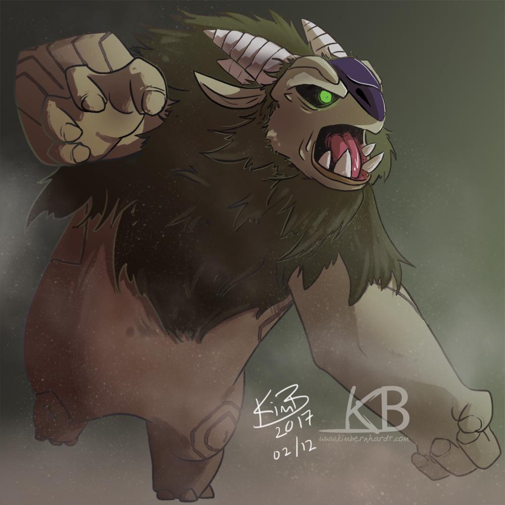 Trollhunters - AAARRRGGHH by kimardt