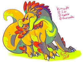 Pretzal the Dragon by kimardt