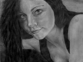 Amy Lee by DeanSidwellArt