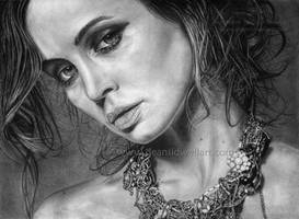 Eliza Dushku by DeanSidwellArt