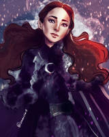 The queen in the north  by smoustart