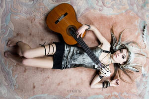 While my guitar gently weeps by straightred