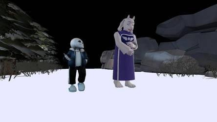 Jokes in the Snow by AlopexVelox