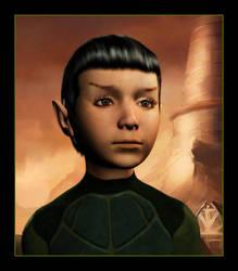 Baby Spock by mylochka