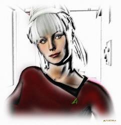 Janice Rand Sketch 02 by mylochka