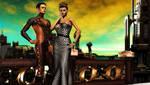 Romulan City Scene by mylochka