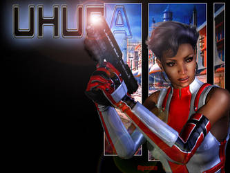 Uhura Undercover Wallpaper01 by mylochka