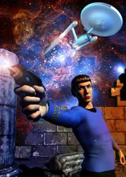 Action Spock by mylochka
