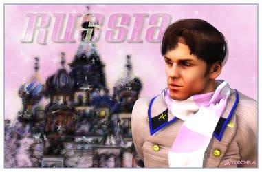 Chekov as Russia 01 by mylochka