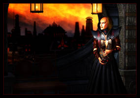 Bloodwine at Dusk by mylochka