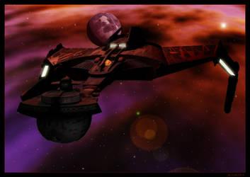SotM Klingon Warbird by mylochka