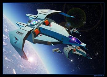 SotM Banshee Class Starfighter by mylochka