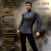 Romulan Uniform Textures for M4 Valiant by mylochka