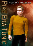 Captain Pike Era Tunic for M4 Valiant 02 by mylochka