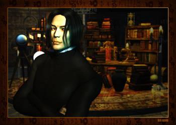 Spock as Snape by mylochka