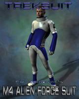 Treksuit Textures for M4 Alien Force Suit by mylochka