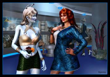 Nova Trek Shore Leave by mylochka
