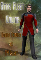 STO Admiral Uniforms for M4 Valiant by mylochka
