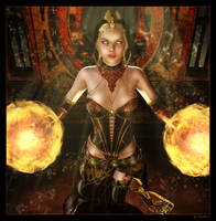 Calling Ancient Spirits by mylochka