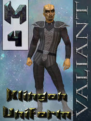 Klingon Uniform Texture for M4 by mylochka