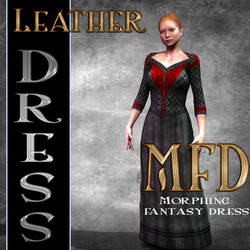 Leather Jerkin Dress Texture for MFD by mylochka
