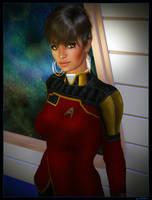 STO Admiral Uhura by mylochka