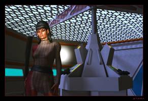 Romulan Uhura 01 by mylochka