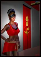 Mirror Uhura 01 by mylochka