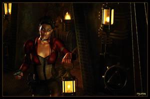 Uhura's Steampunk Adventure 01 by mylochka