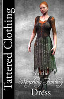 Tattered Clothing for Morphing Fantasy Dress by mylochka