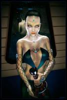 Cardassian Lady 02 by mylochka