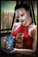 Cardassian Lady 04 by mylochka