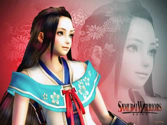 Lady Hayakawa Wallpaper 01 by mylochka