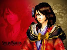 Lady Muramatsu Sanada Wallpaper 01 by mylochka