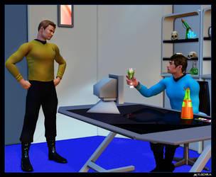 Kirk in Sickbay 01 by mylochka