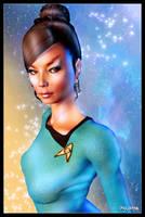 Star Fleet Officer T'Pring by mylochka