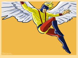 X-Man of the day: ANGEL by NelsonHernandez