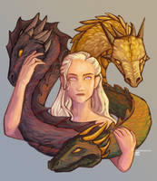 Dragon Mother by clarinking