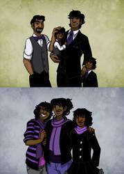 Human Makara Family by Gemkio