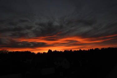 November Sunset by Finnyanne