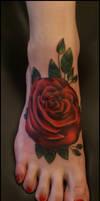 Feet like roses by Mythos-Tattoo