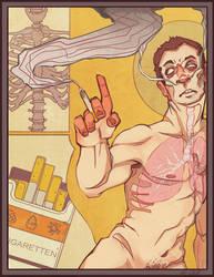 bitte rauchen. by AlbinoTopaz