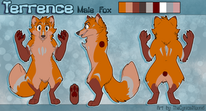 [CO] Terrence Fursuit Reference Sheet by TheCynicalHound
