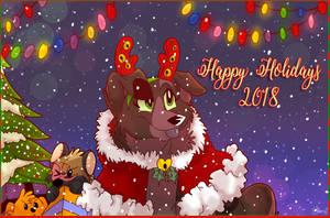 Happy Holidays 2018 by TheCynicalHound