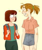 Marcie and Patty by Hazard-Girl