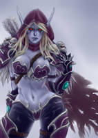 Lady Sylvanas Windrunner by Roghka