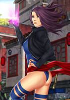 Psylocke II by TheAFN