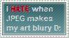 Hate JPEG STAMP by BANGDK