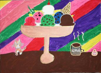My Ice Cream Sundae by Silly-Artist